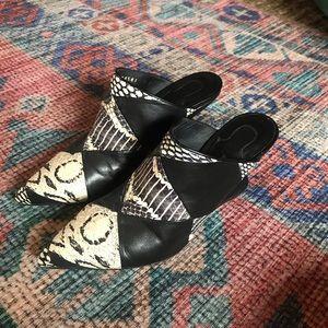 Salvatore Ferragamo mule heels